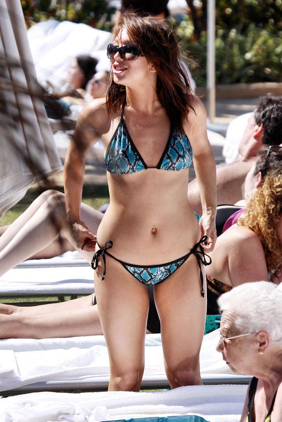 Celebrity Bikini | Пляжная мода линдси лохан